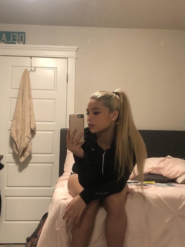 Bedroom selfie